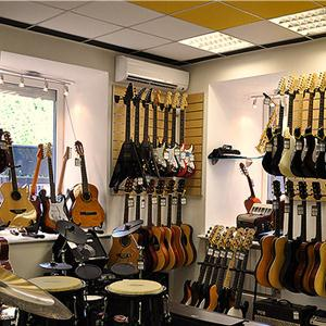 Музыкальные магазины Лениградской