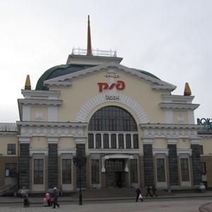 Железнодорожные вокзалы Лениградской